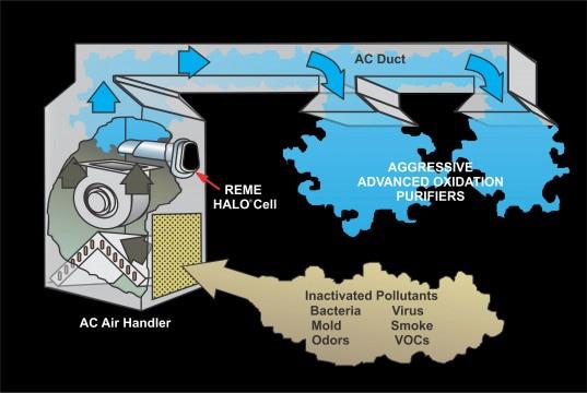 reme halo process diagram