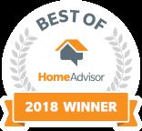 home advisor best of 2018 winner logo