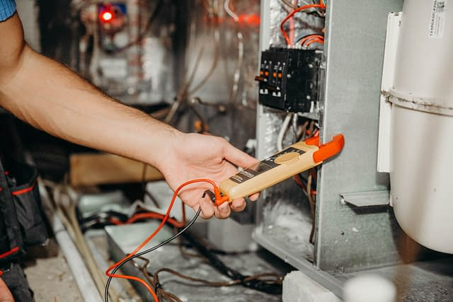 testing and inspecting a furnace